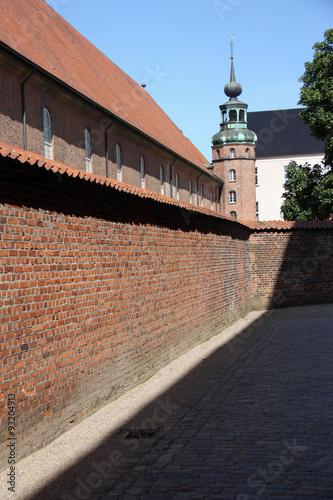 Photo  Copenhague, clocher à bulbe dans l'île du Château, Danemark