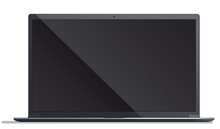 Modern Laptop - Illustration