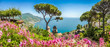 Leinwandbild Motiv Amalfi Coast, Campania, Italy