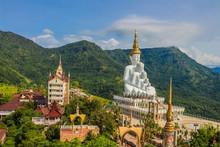 Buddha Stacked. Wat Phasornkaew, Attractions In Phetchabun Province,Thailand.