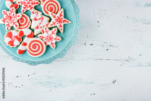 Papiers peints Biscuit Christmas Cookies