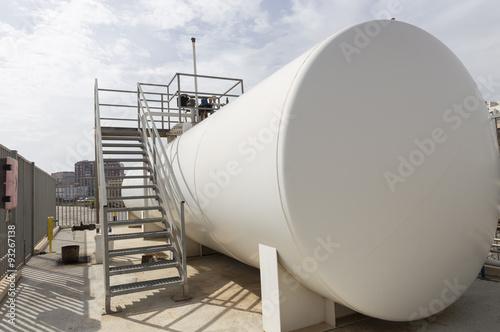 Photo  Tank of flammables liquids