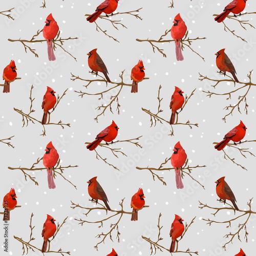 zimowe-ptaki-retro-tlo-wzor-bez-szwu
