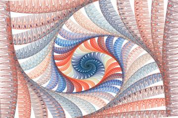 Naklejkaabstract fractal background for creative design