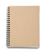 Notebook. Textured Isolated On...