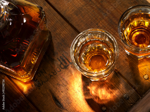 Photo sur Toile Alcool whiskey
