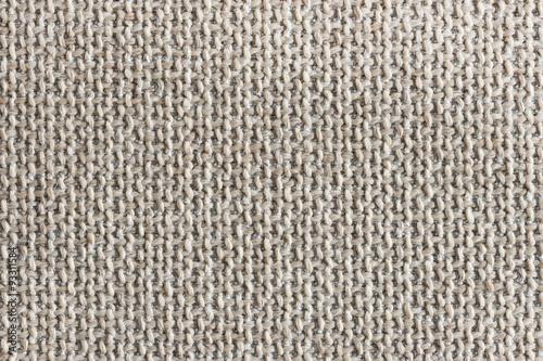 Poster Tissu High detail closeup linen fabric texture background.