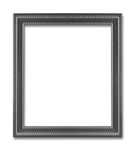 Vintage Frame.  Isolated On W...