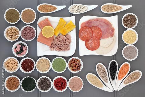 Foto op Aluminium Assortiment Healthy Diet Food