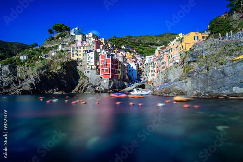 Fotografie, Obraz  Le village de Riomaggiore