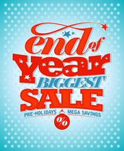 End Of Year Pre-holidays Sale.