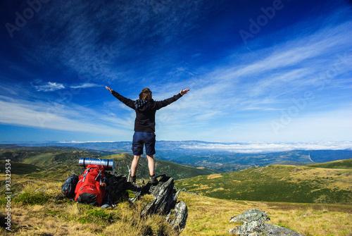Summit of Pena Trevinca