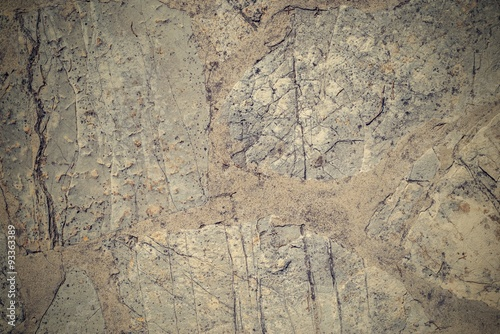 Photo sur Toile Les Textures abstract texture of a stone concrete floor