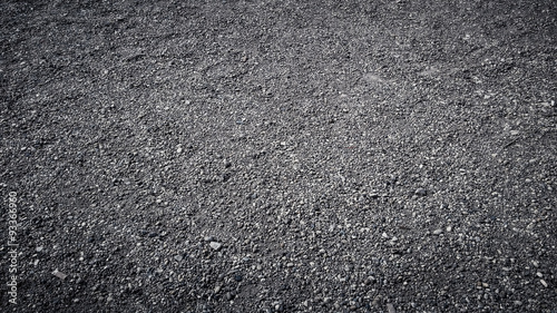 Fototapeta Close up of small gravel stones texture background