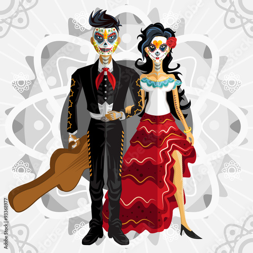Photo  Dia De Los Muertos Day Of The Dead Bride