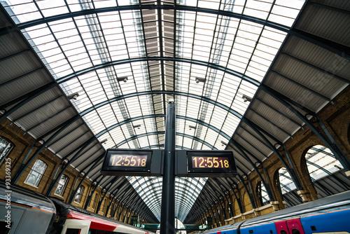 Canvas Prints Antwerp Kings X trains