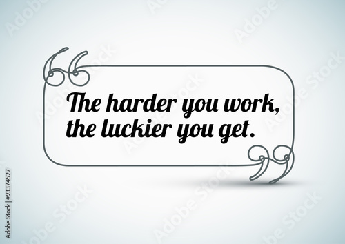 Photo Quote about work