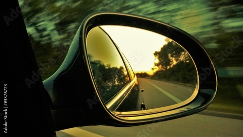 fototapeta na drzwi i meble Spiegelbild