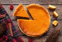 Homemade Sliced Pumpkin Tart P...