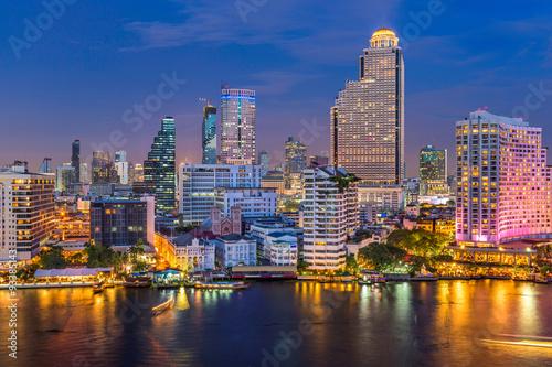 Poster Bangkok Bangkok Skyline