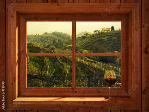 Photo Stands Magenta Vineyards