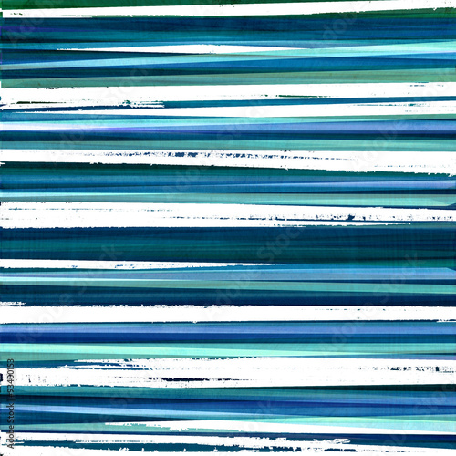 Fotografie, Obraz  blue grunge stripes design