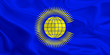 Leinwanddruck Bild - Flag of the Commonwealth of Nations
