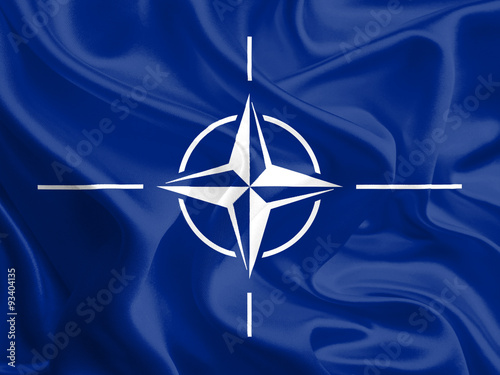 Flag of North Atlantic Treaty Organization (NATO) Wallpaper Mural
