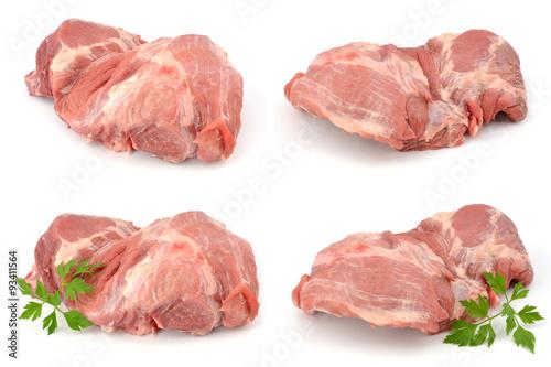 Fototapeta mięso wieprzowe łopatka obraz