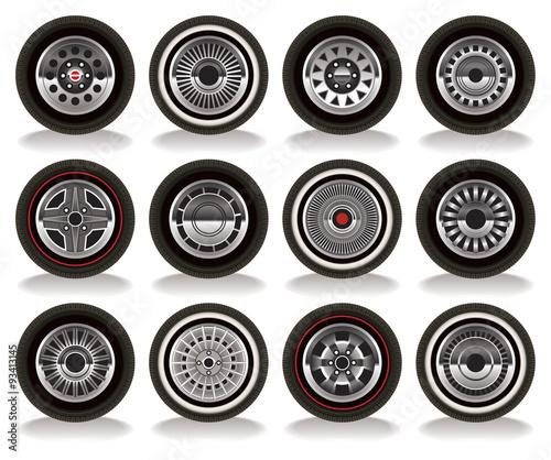 Fotografie, Obraz  Retro Wheels