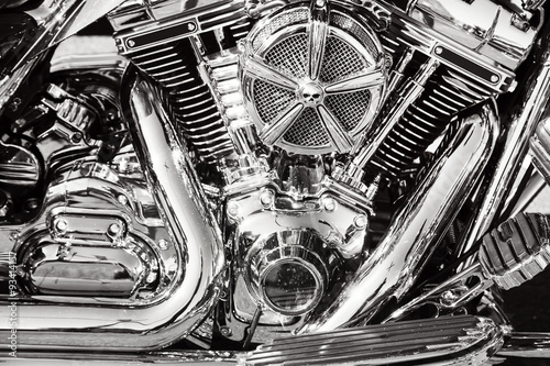 Motorcycle details Canvas