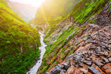 Mountain River Landscape From ...