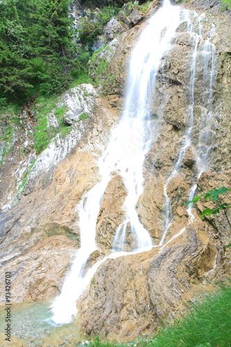 Fotografía  Wasserfall im Allgäu