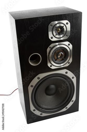 Fotografía  Stereo speaker