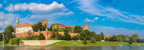 Wawel castle in Kracow #93429711