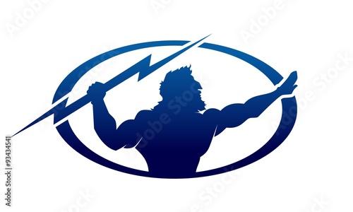 Photo  zeus logo template