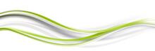 Welle Wellen Grün Band Streifen Business