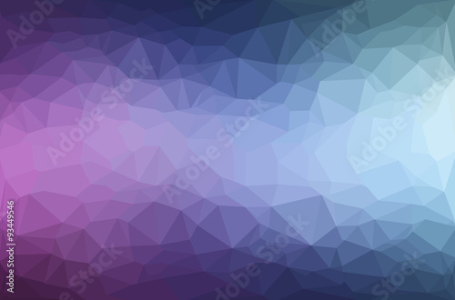 Photo  Abstract polygon geometric background.