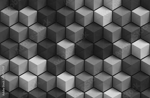 3D szary geometryczny wzór tła