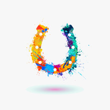 Horseshoe Rainbow Icon