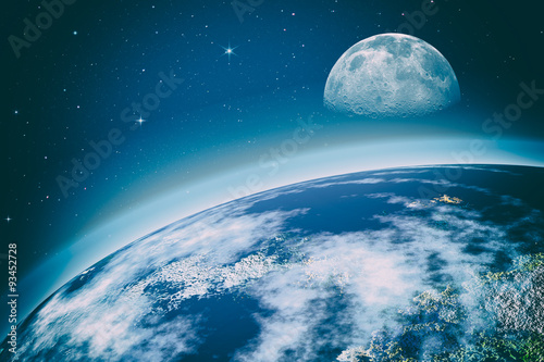 Fototapety, obrazy: Far away. Universe. Abstract science backgrounds. NASA imagery u