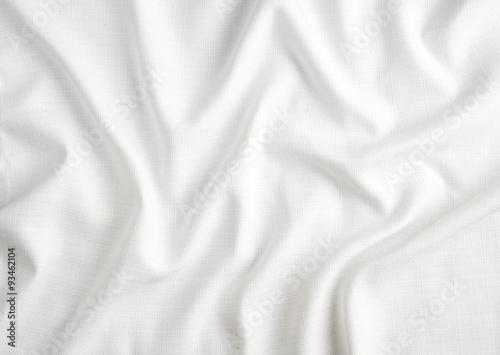 Fotografiet  white fabric
