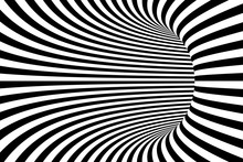 Black And White Lines Abstract...
