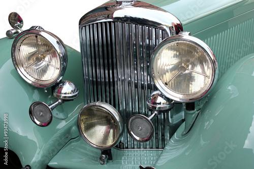 Keuken foto achterwand Vintage cars Ancêtre. Calandre
