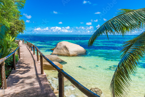Foto op Aluminium Tropical strand Paradise beach on tropical island