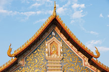 Exterior Detail Of The Wat Sri...