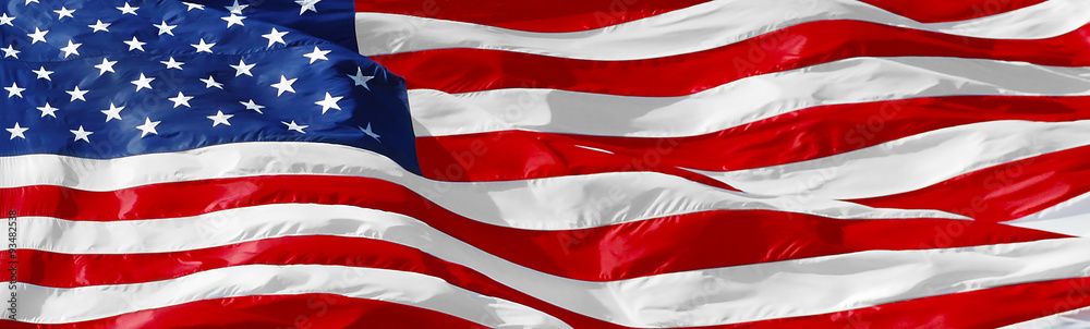 Fototapety, obrazy: American flag background