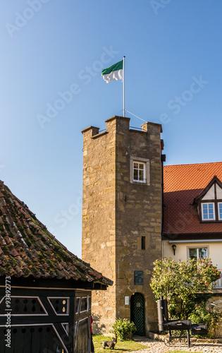 Poster Artistiek mon. Turm Burg Königsberg
