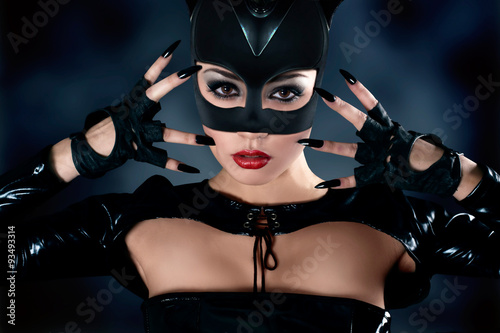 Fotografering Catwoman