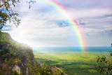 Fototapeta Tęcza - beautiful landscape